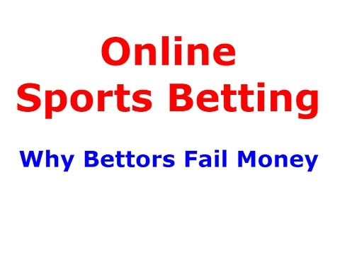 Online sports betting in bookie and why gamblers lose ...