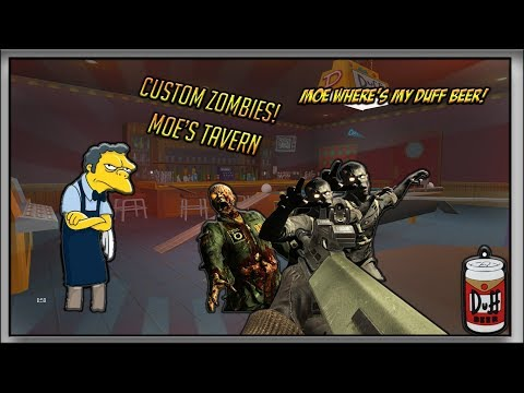 The Simpsons Zombies (MOE,S TAVERN) [Custom Zombies Black Ops 3]