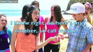 MattyBRaps & Cimorelli [Call Me Maybe Parody/Don
