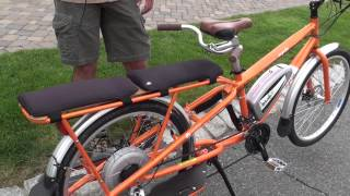 Yuba Mundo Cargo Bike with BionX Electric Bike System at Charged Up | Electric Bike Report