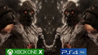 Skyrim Xbox One X vs PS4 Pro Graphics Comparison - Parity Achieved [4K/60fps]