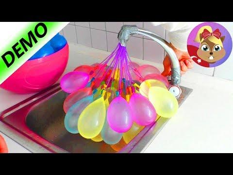 SU BOMBA BALONLARI KARŞILAŞTIRILMASI / 60 Saniyede 100 Balon Şişirmesi Türkçe!