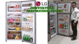 LG Double Door Refrigerator Inverter Linear Compressor Technology lg refrigerator