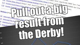 Peter Webb, Bet Angel  - The Epsom Derby meeting