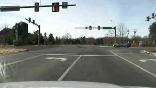 DRAMATIC Dashcam video police chase ended with a suspect shooting himself in the head