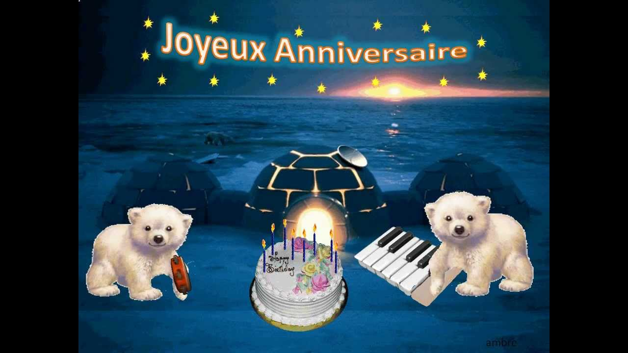Anniversaire Cartes Virtuelles Youtube