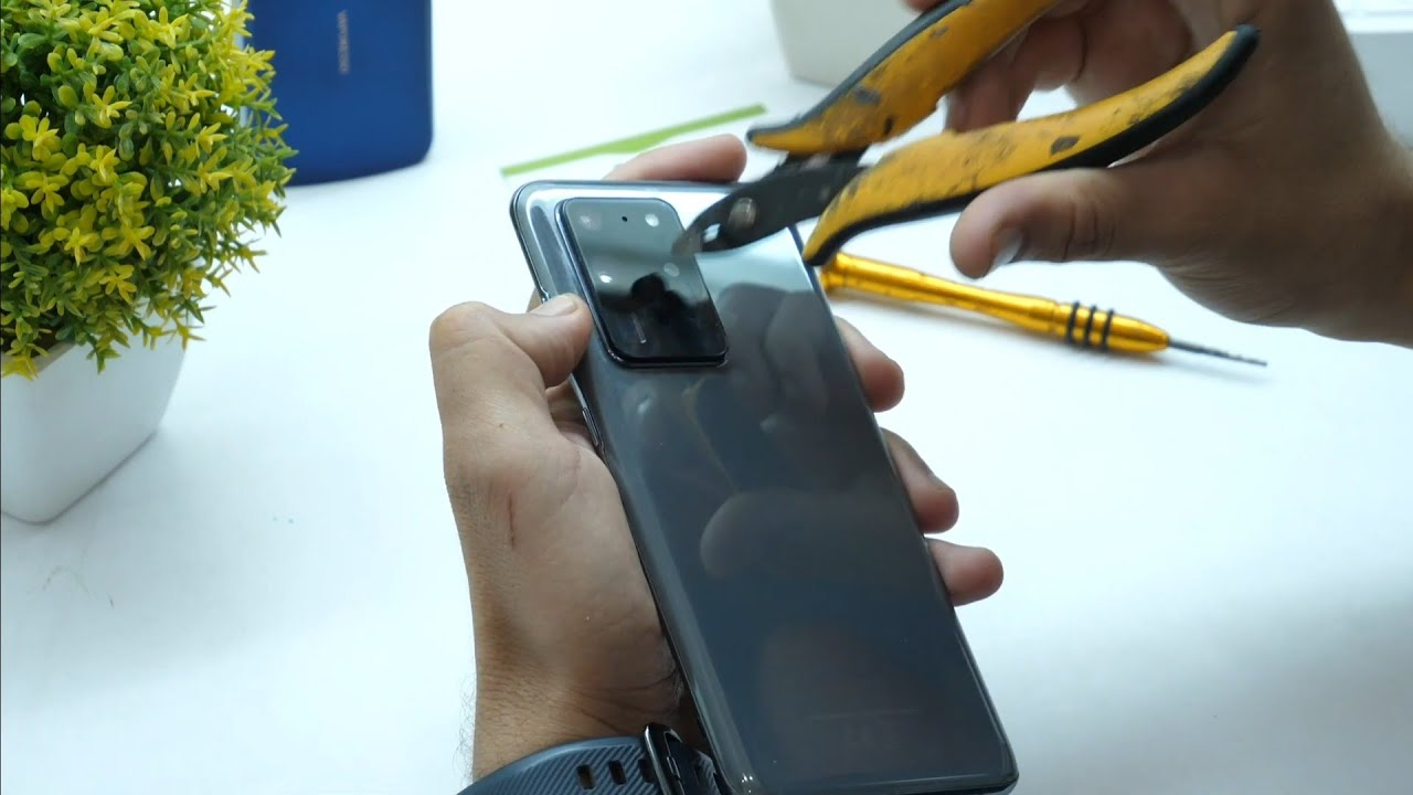 How to Broken Camera Samsung S20 Ultra's ? It's Still Working fine ? After Crash You Can S