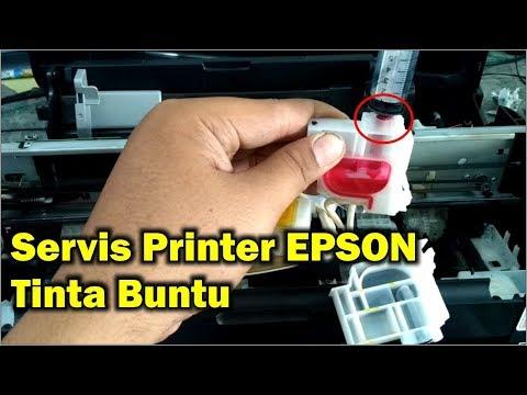 Ini cara mudah memperbaiki slang infus Printer anda yg macet..cukup suntikan! ikuti langkah langkahn.