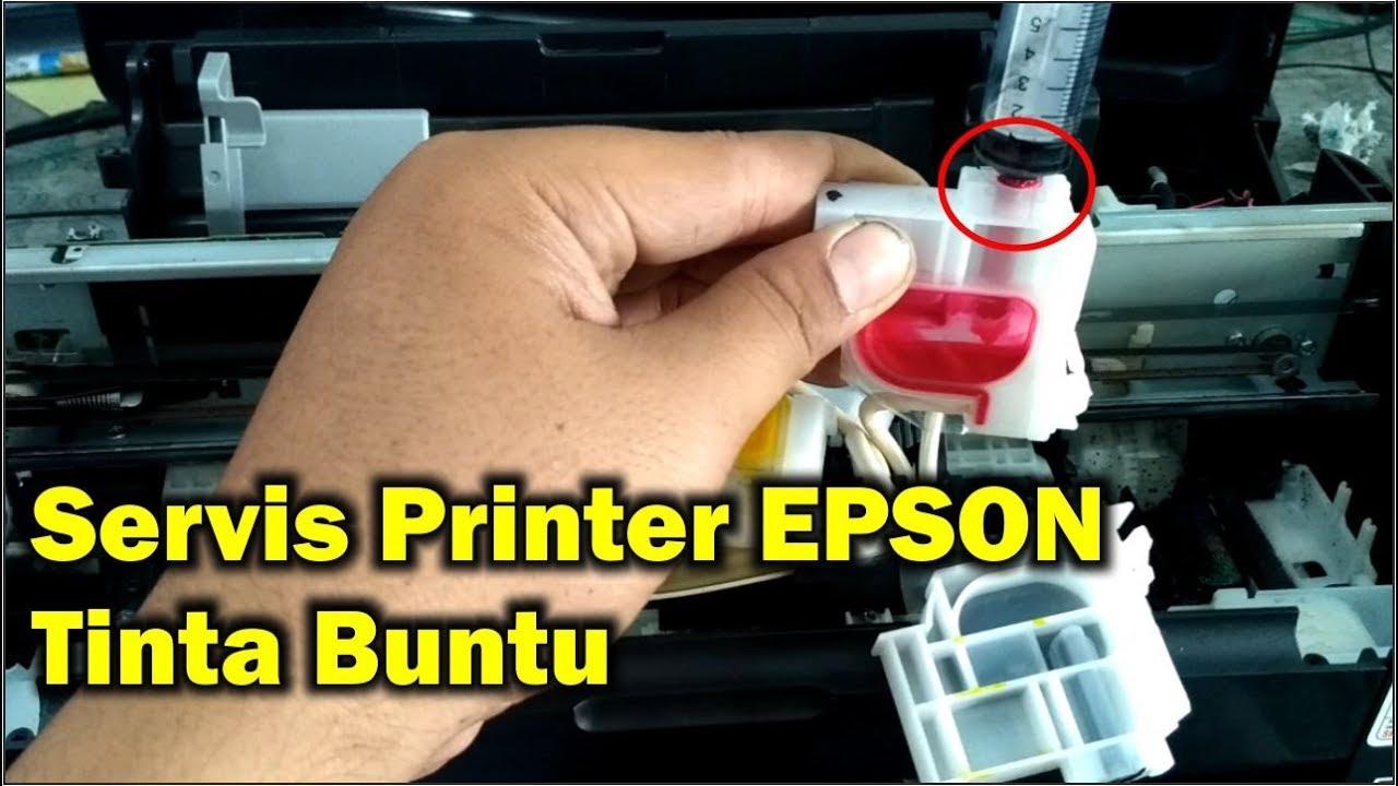 Mengatasi Printer Epson L310 Tinta Tidak Keluar Ketika Buat Print