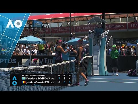 Shvedova v Begu match highlights (1R) | Australian Open 2017