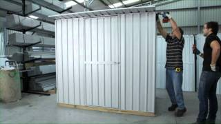 Shed Assembly - Flat Or Sloping Roof - Garden Master Sheds