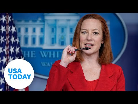 White House press briefing with Press Secretary Jen Psaki | USA TODAY