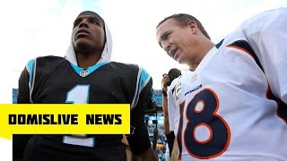 NFL Super Bowl 50 Carolina Panthers vs Denver Broncos | Cam Newton vs Peyton Manning