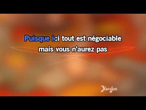Karaoké Ma liberté de penser - Florent Pagny *