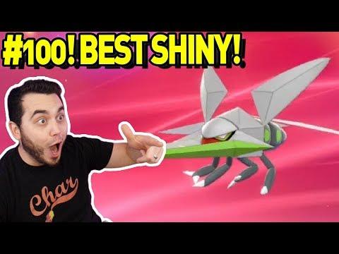 #100! My FAVORITE SHINY! Epic Shiny Vikavolt In Pokemon Sword And Shield!