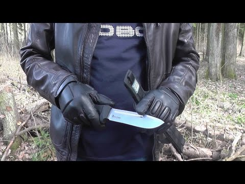 Запредельный тест ножа...