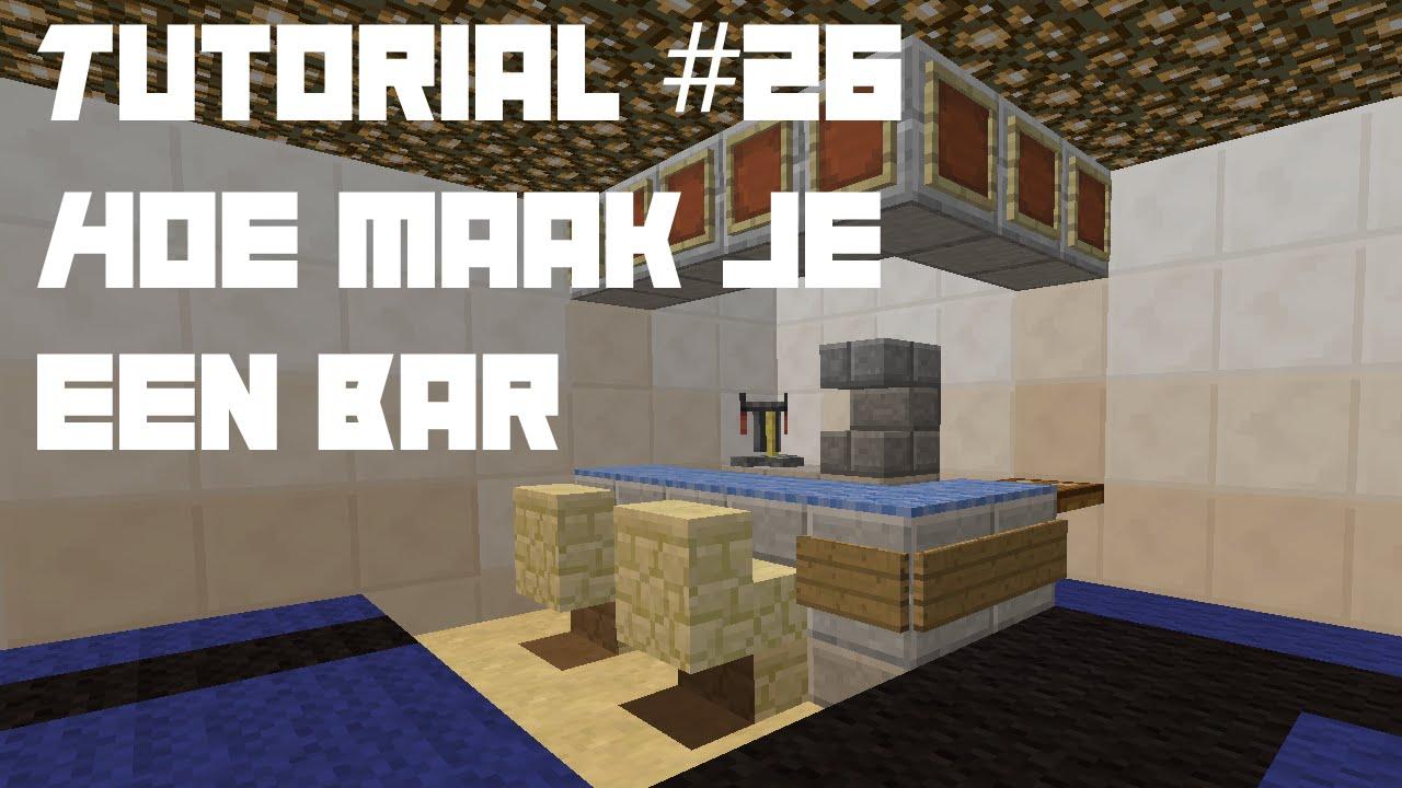 Tutorial 26 hoe maak je een bar minecraft youtube - Hoe sluit je een pergola ...
