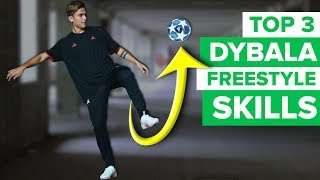 PAULO DYBALA SHOWS HIS BEST SKILL MOVES | Dybala football skills
