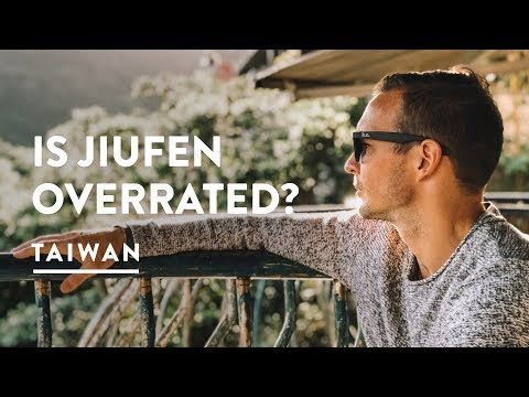 TOURIST TRAP!? JUIFEN TRAIN FROM TAIPEI TO RUIFANG STATION  | Taiwan Travel Vlog 117, 2018