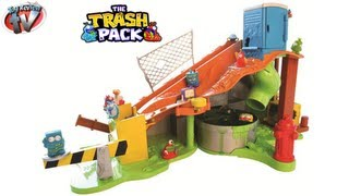 The Trash Pack Sewer Dump Playset Kids Toy Review Trashies Toys Slime Fun