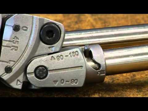 Трубогиб для титановых труб до 12мм Ridgid модель 600