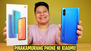 REDMI 9A - PINAKAMURANG PHONE NI XIAOMI NGAYONG 2020!
