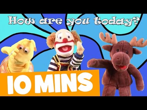 How Are You Today? Song and More | 10mins Video Collection for Kids