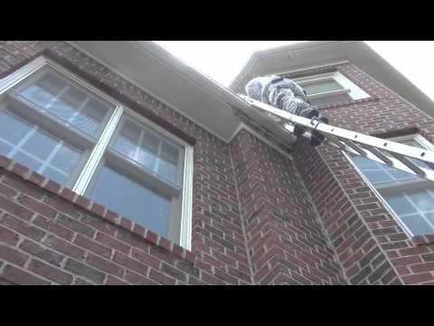 Huge Honey Bee Nest In The Roof Of A House Youtube