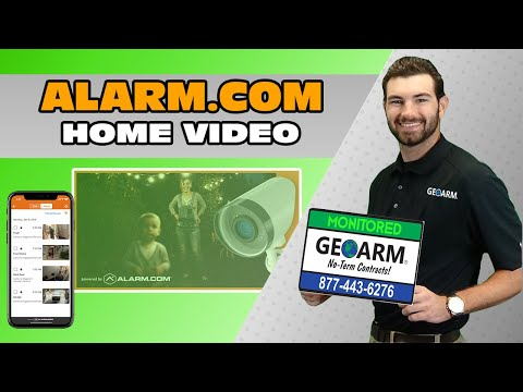 Alarm.com Video Alarm Monitoring Overview