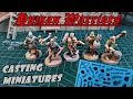 - Human warriors mold. Casting miniatures. Scenery-forge.com