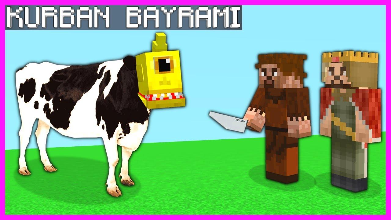 BEBEK TEPEGÖZÜ BAYRAMDA KESİYORUZ!  😂 - Minecraft