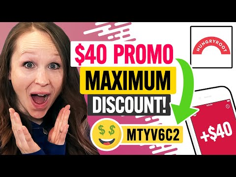 BEST Hungryroot Promo Code 2021 - $40 Maximum Discount for New Customers! (100% Works)