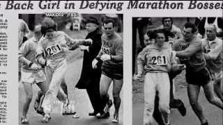 Kathrine Switzer, Pioneering Boston Marathon Runner, on Fight to Stay in 1967 Male-Dominated Race