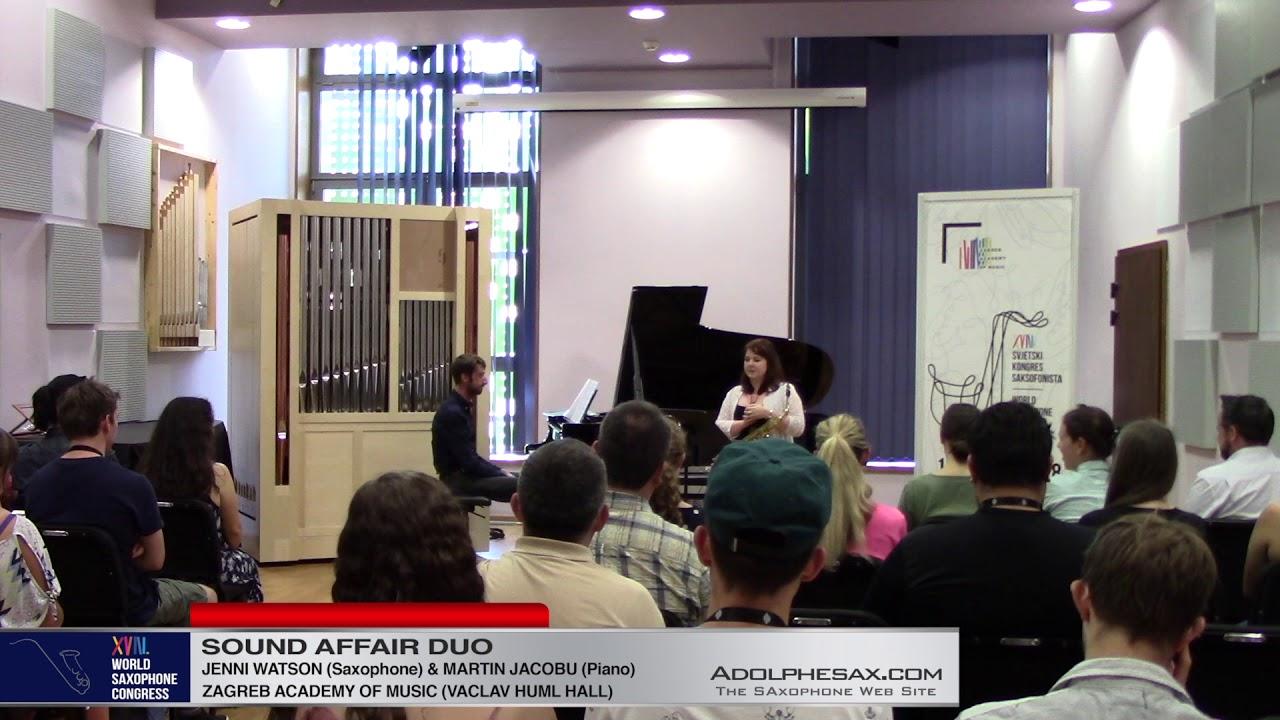 Doctor Gradus ad Parnassum by C.Debussy – Jenni Watson –  XVIII World Sax Congress 2018 #adolphe