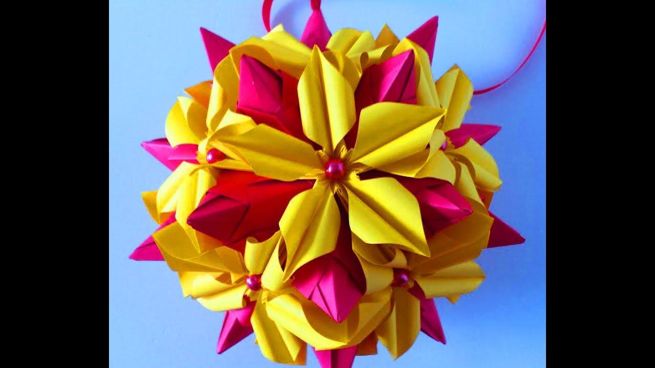 5 petals origami flower 2 youtube 5 petals origami flower 2 mightylinksfo