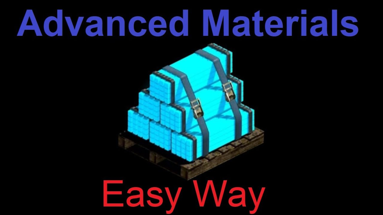 War Commander : Advanced Materials Base (100) Updated Video.