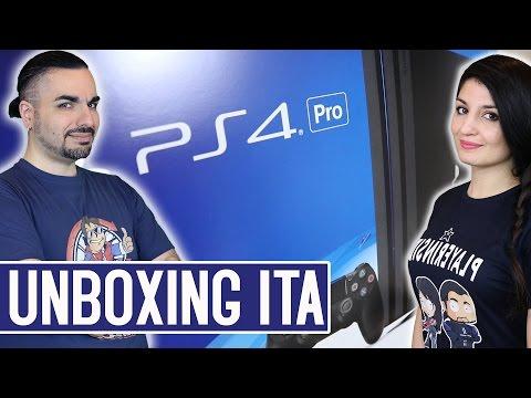 PS4 PRO UNBOXING ITA - Vi mostriamo la NUOVA PlayStation 4