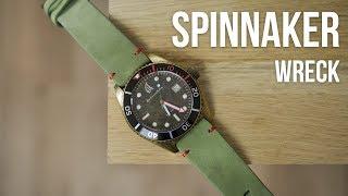 Unboxing et test : Spinnaker Wreck • Une montre de plongée originale !