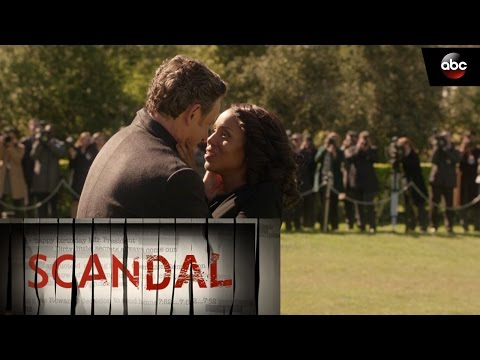Olivia Kisses Fitz Goodbye - Scandal Season 6 Finale