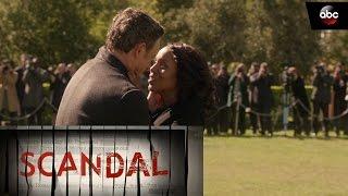 Olivia Kisses Fitz Goodbye - Scandal Season 6 Finale