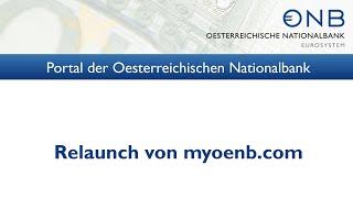 Relaunch Des OeNB-Portals