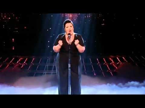 Mary Byrne sings