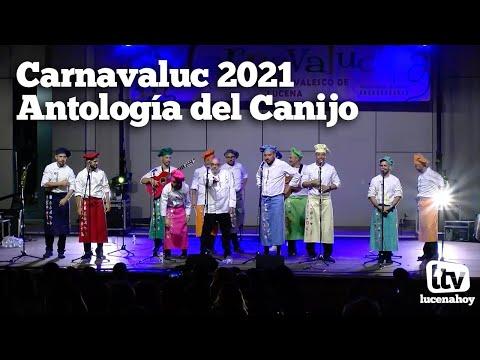 VÍDEO: Carnavaluc 2021: Así sonó la Antología del Canijo en el Auditorio Municipal de Lucena (Actuación completa)