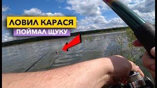 Ловля карася и плотвы с лодки на поплавок