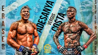 "Adesanya vs Costa Extended Promo | ERASE THE STYLEBENDER | ""I'm Coming For You"""