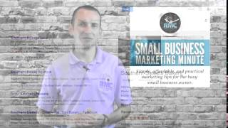 Marketing Minute Episode 27: Choosing your business email address