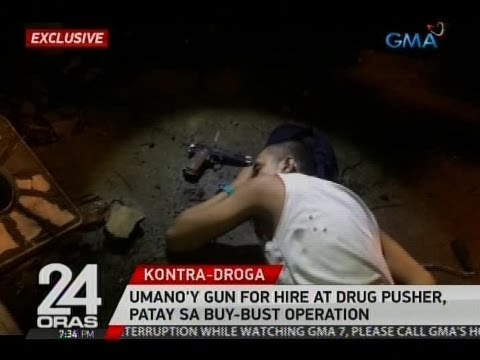 24 Oras: Umano'y gun for hire at drug pusher, patay sa buy bust operations