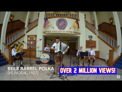 """Beer Barrel Polka"" (Roll Out the Barrel) by West Coast Prost!"