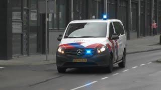 Politie, Brandweer en Ambulance naar explosie in Rotterdam-West! #1154