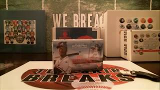 8/19/18 - 2018 Topps Clearly Authentic Baseball 1 Box Break